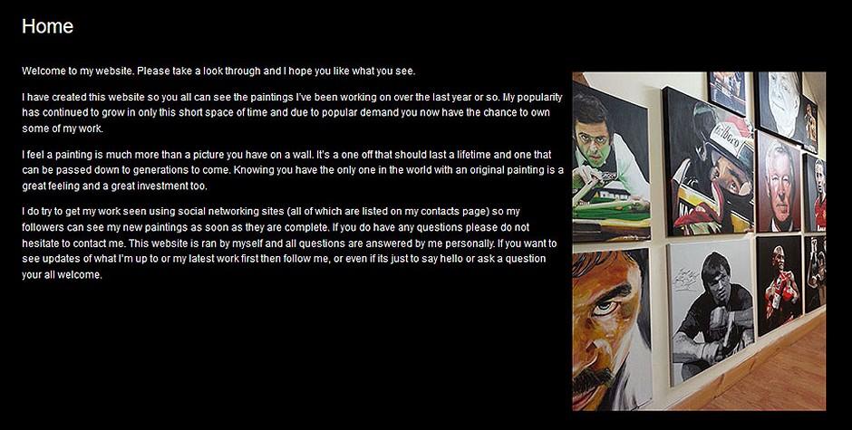 Jay Connolly Art Artist Gallery Portfolio Website