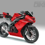 Triumph Daytona 1050 Red