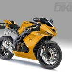 Triumph Daytona 1050 Yellow